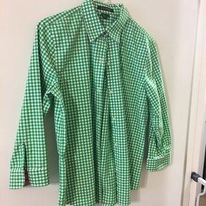 Lauren by Ralph Lauren ladies shirt M gingham